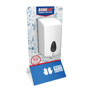 Counter Top Automatic Touch-Free Hand Sanitiser Station
