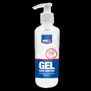Hand Sanitiser 70% 250ml Gel Pump Dispenser