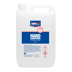 Hand Sanitiser 80% 5 Litre Liquid Jerrycan Refill