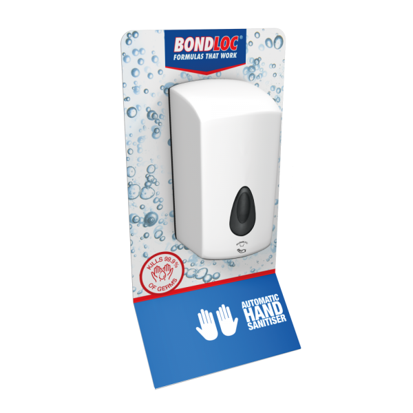Wall Mounted Automatic Touch-Free Hand Sanitiser Station