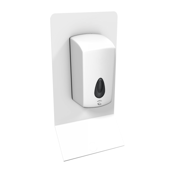 Wall Mounted Automatic Touch-Free Hand Sanitiser Station Unbranded